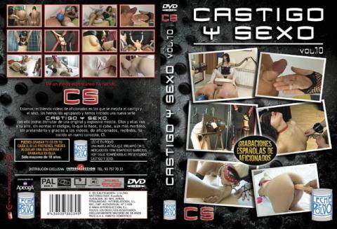 """2n DVD """"Castigo y Sexo vol.10""""  ¡Melody Star novata! una 18 añera de lo más inocente, adiestrada, azotada y tratada como a una perra. LLuvia dorada"""