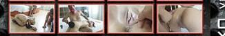 """El nacimiento de una estrella del porno Melody Star imagenes de su primera escena sadomasoquista en el DVD """"Castigo y Sexo Vol. 10"""" de la productora Leche en Polvo"""